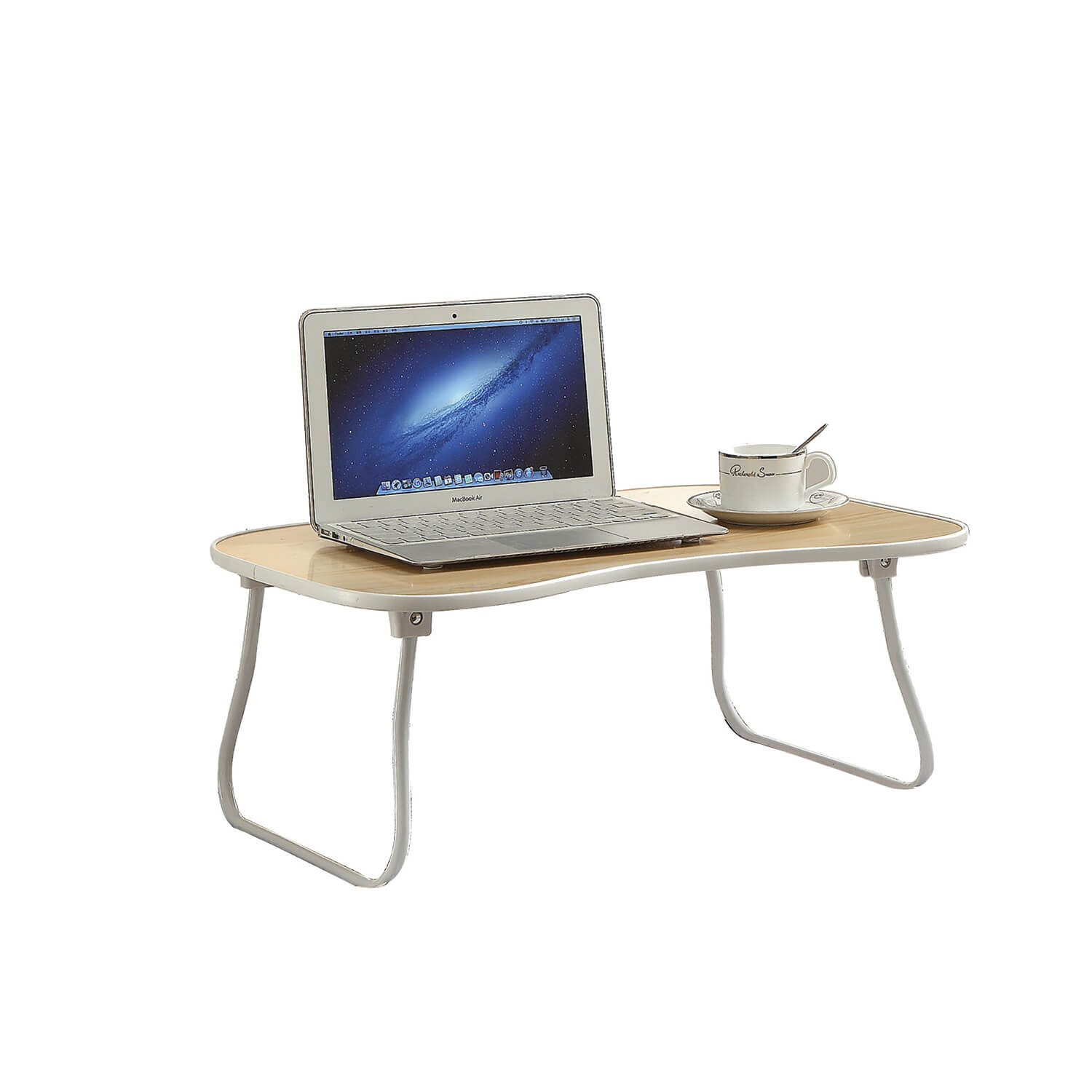 Folding Tray Table White Home Store More