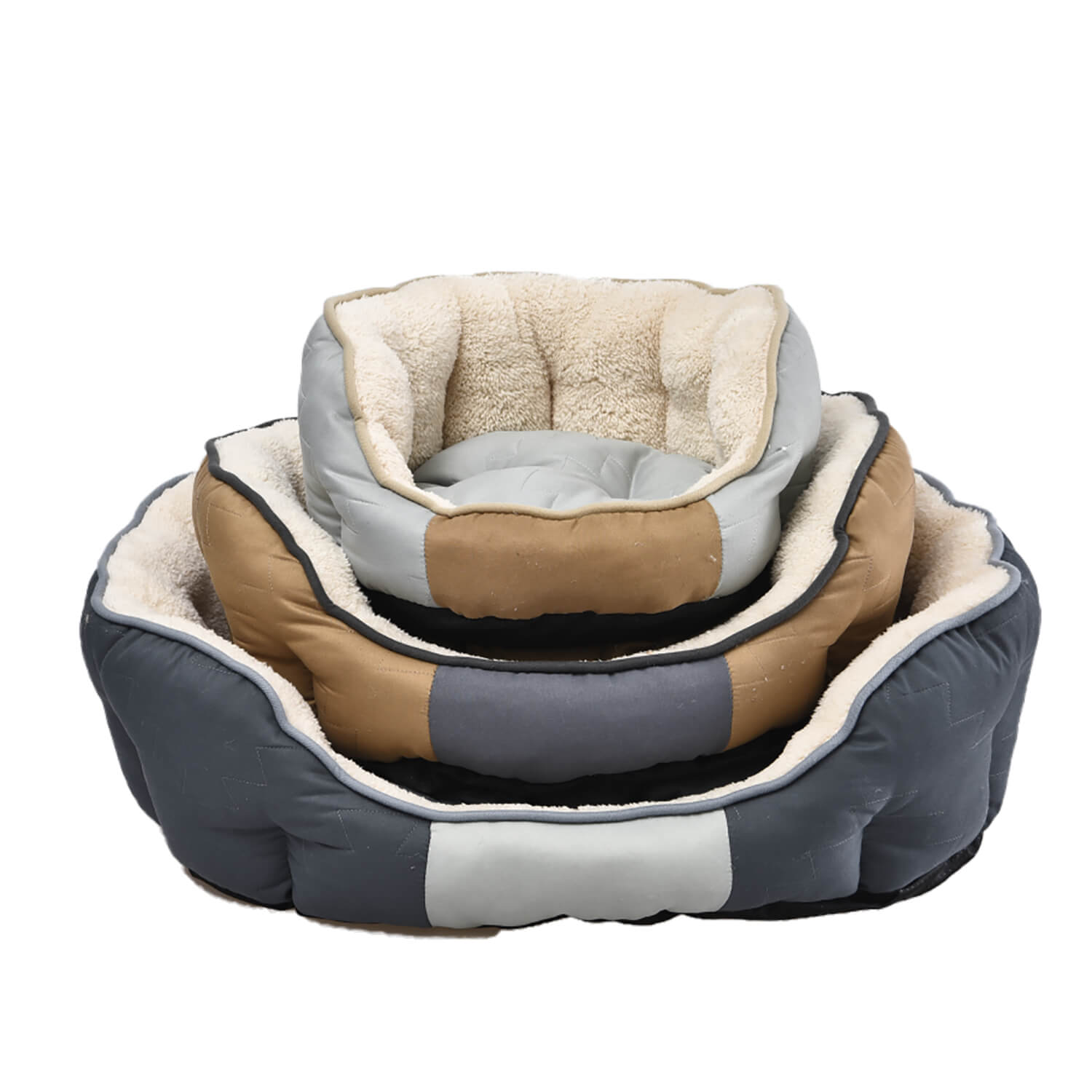 Perfect Paws Luxury Plush Pastels Pet Bed - Small