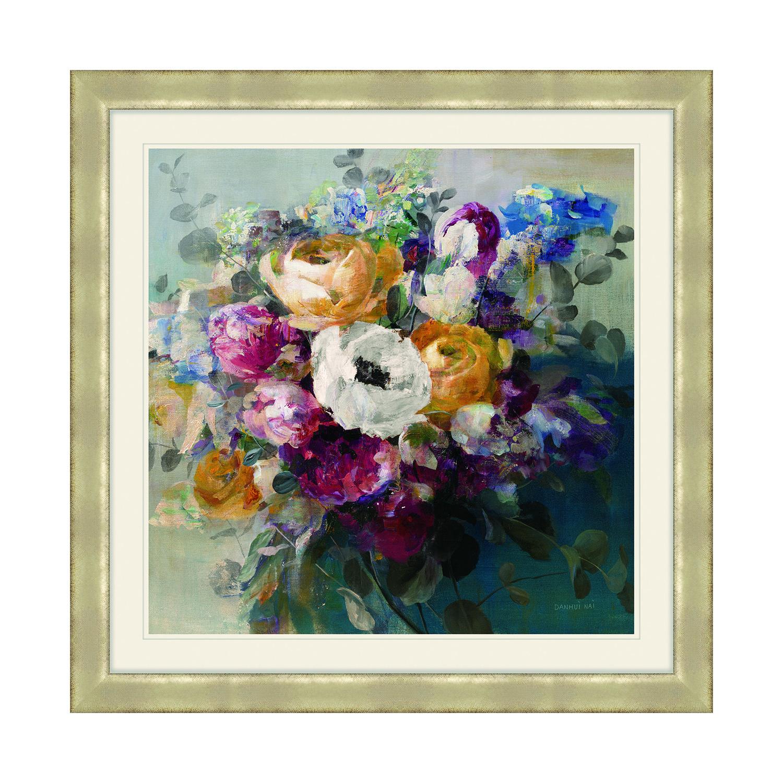 Autumn Bouquet Framed 69x69cm Home Store More