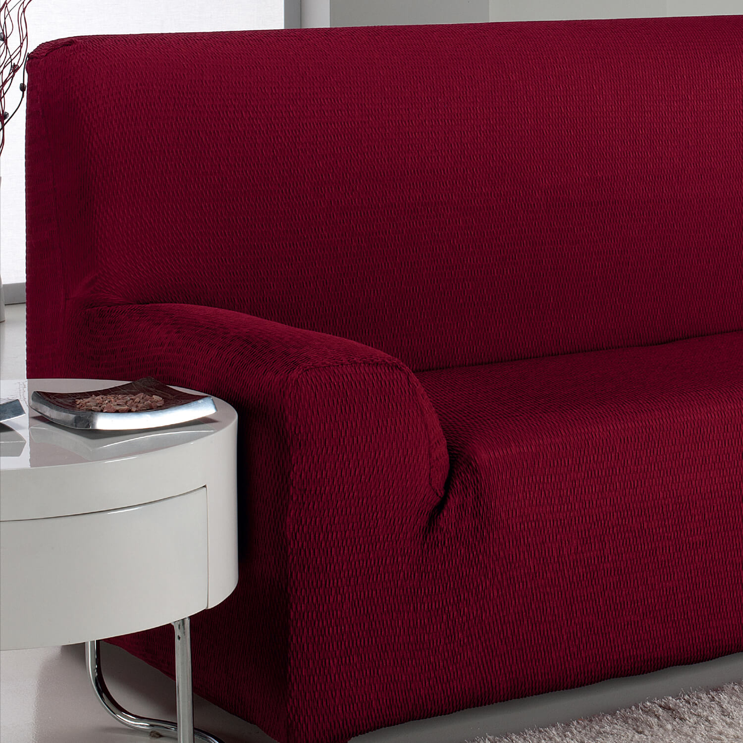 easystretch armchair cover bordeaux home store more. Black Bedroom Furniture Sets. Home Design Ideas