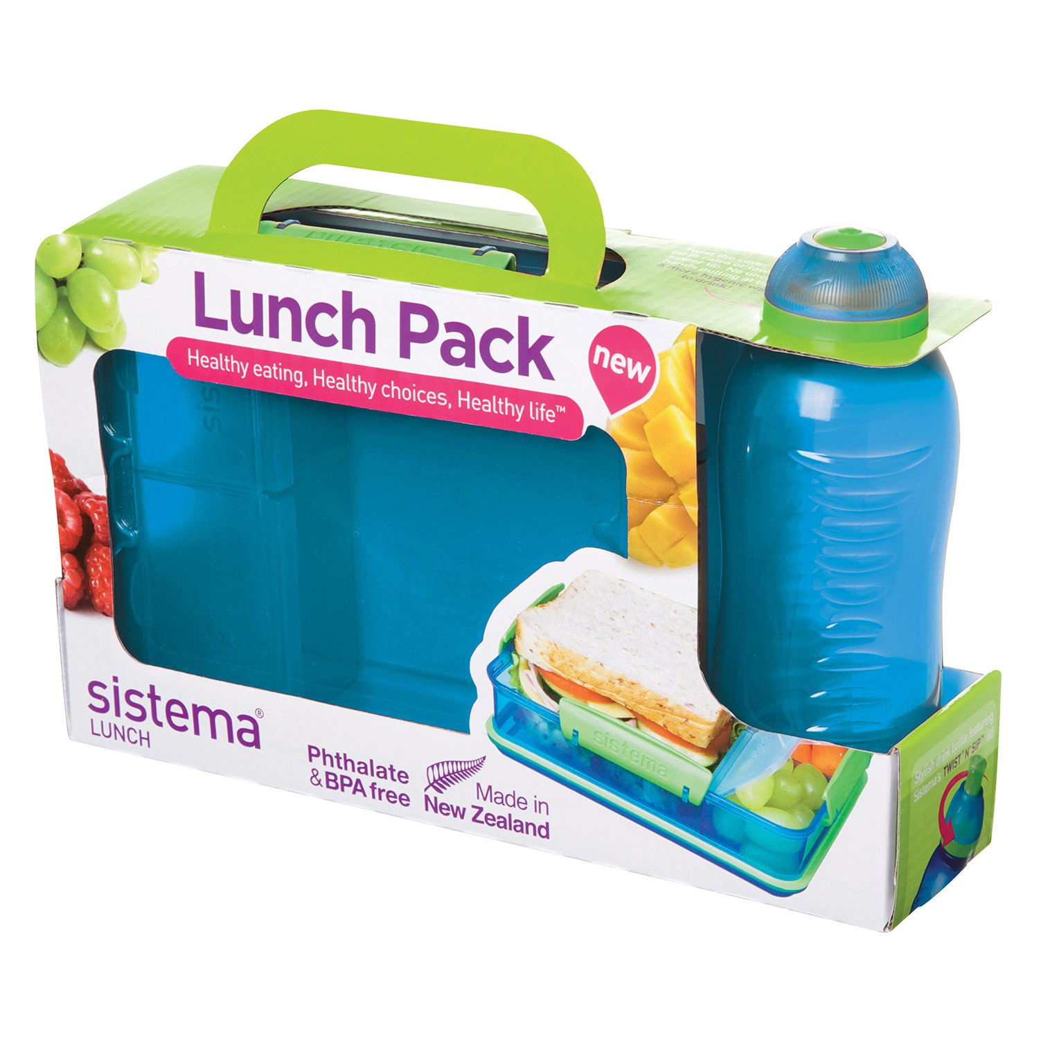Sistema Lunch Pack Duo Box & Bottle - Home Store + More