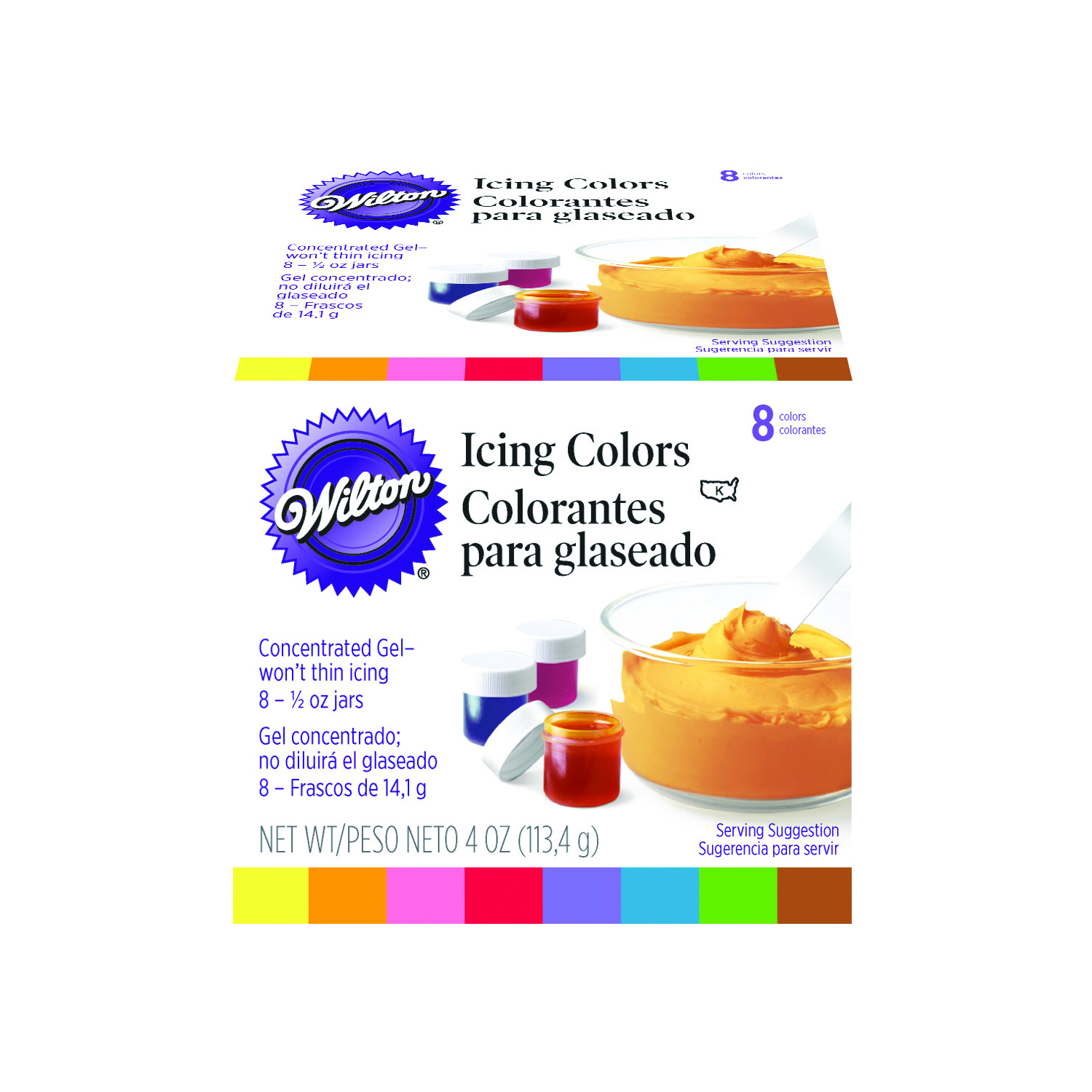 Wilton 8 Icing Colours Set - Home Store + More