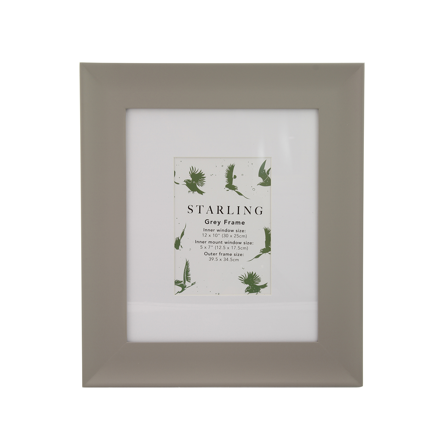 10x12 Starling Grey Frame - Home Store + More