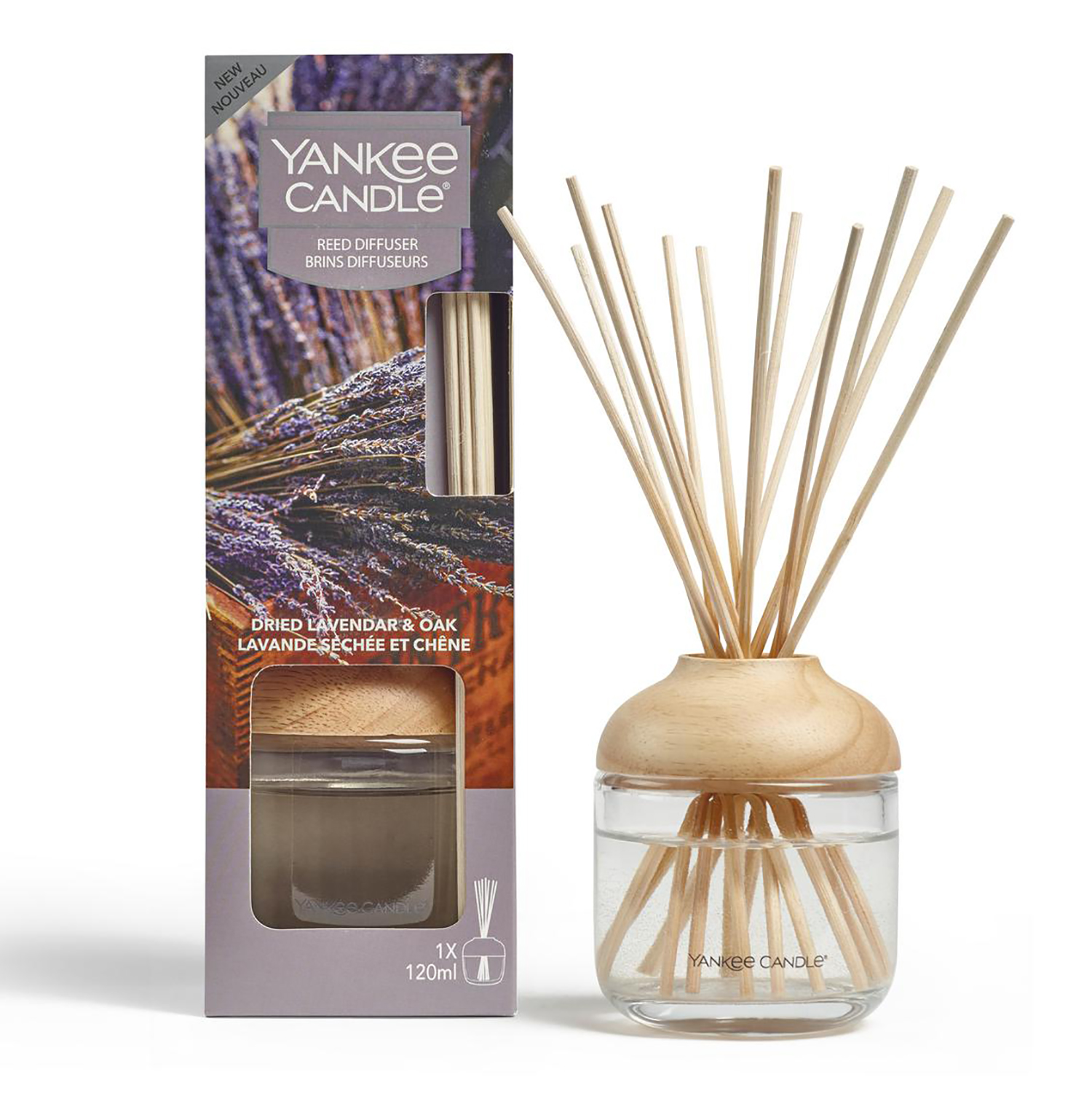 Yankee Dried Lavender & Oak Reed Diffuser