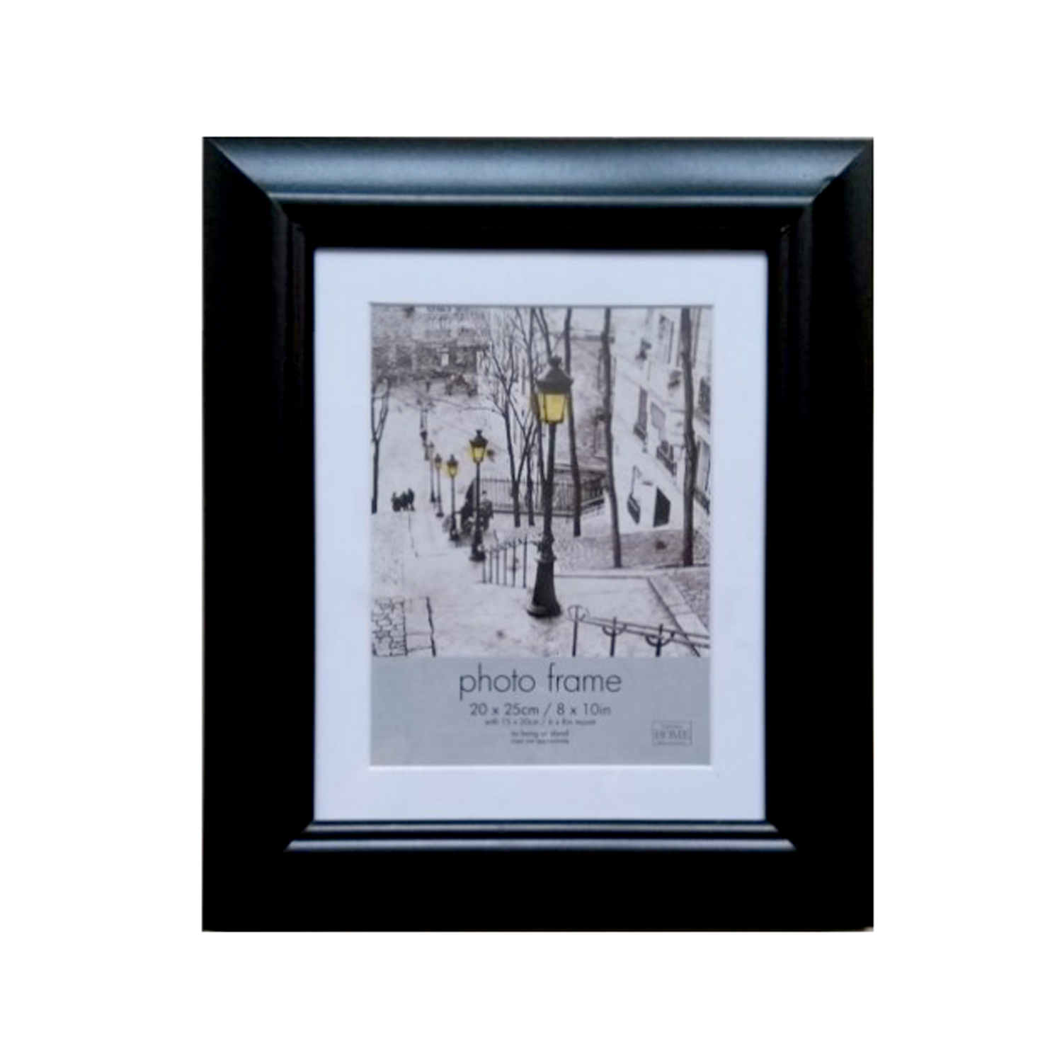 Simply Black Photo Frame 8 X 10 Home Store More
