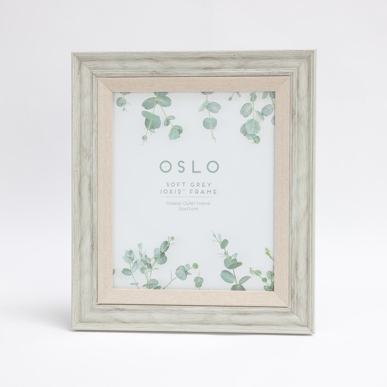 Oslo Soft Grey Frame 10 X 12 Home Store More