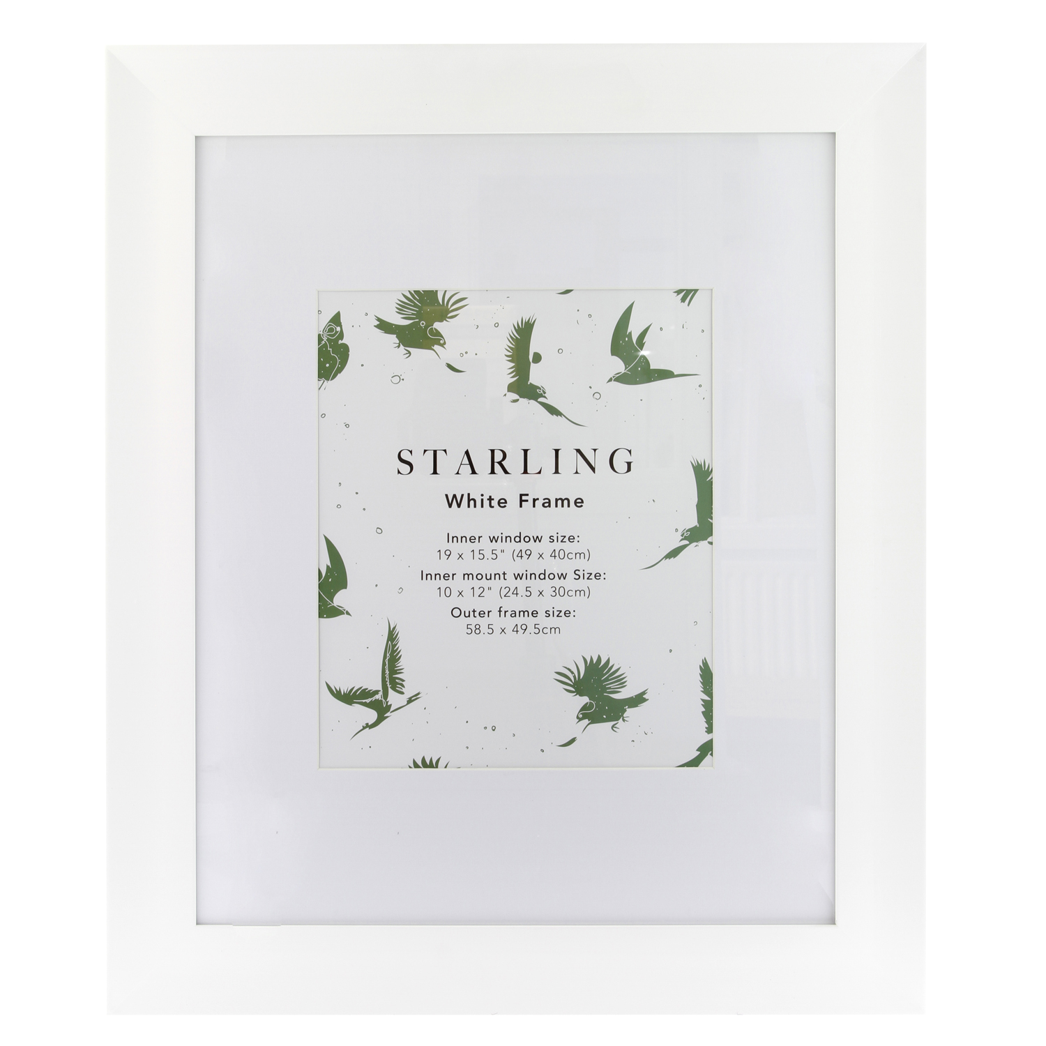 Starling White Frame 10 X 12 Home Store More