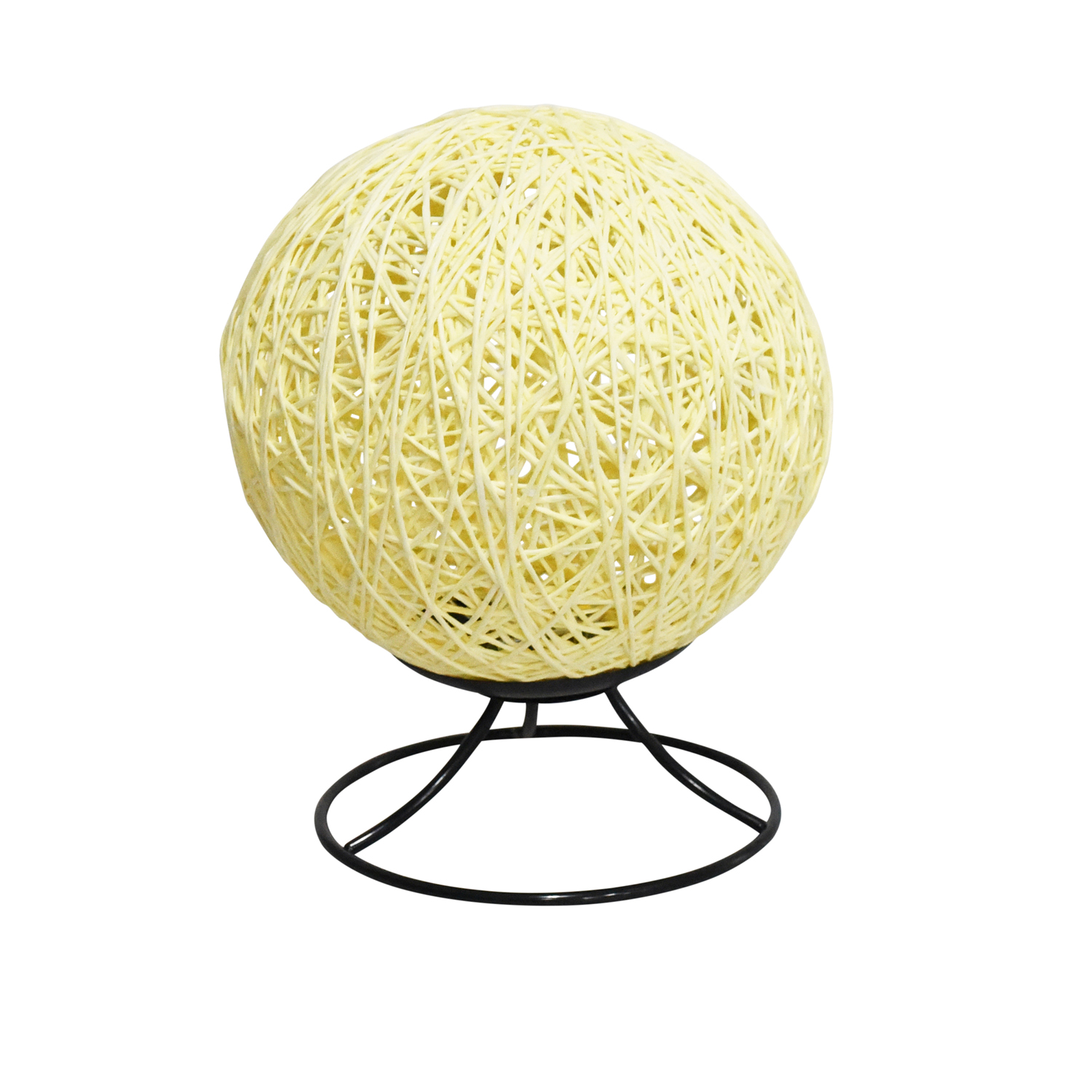 Rattan Ball Projector Lamp