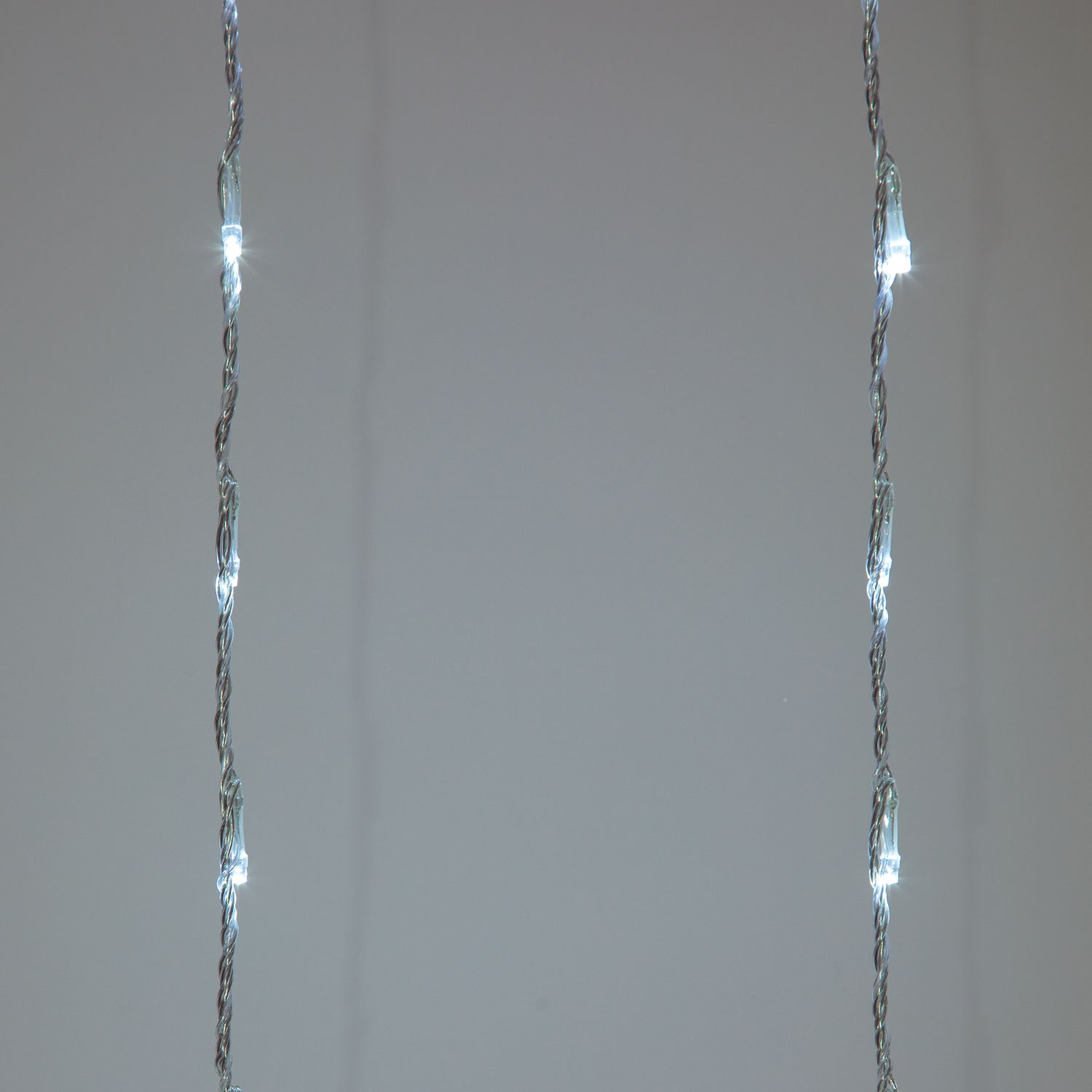 240 White LED Waterfall Curtain