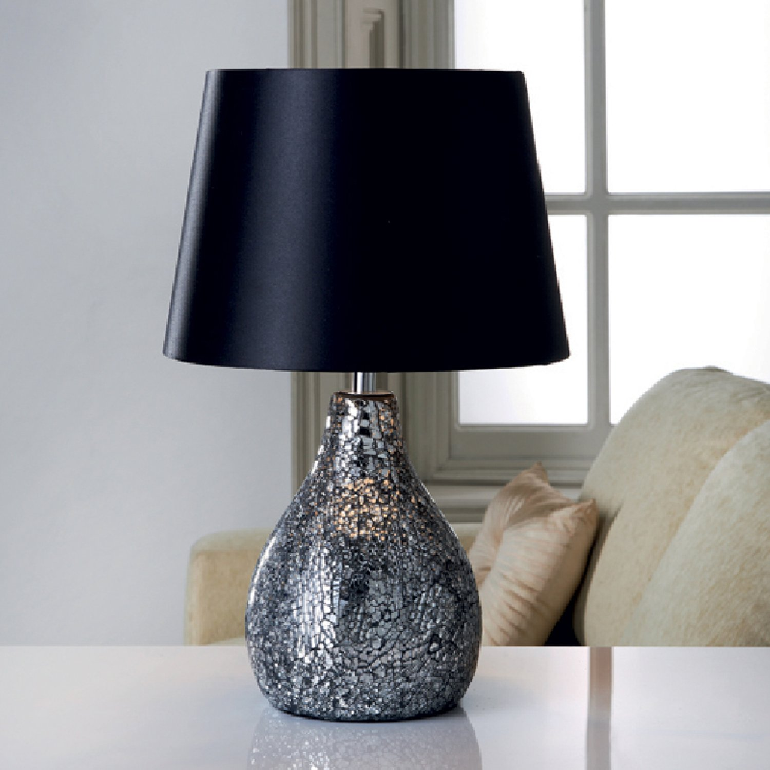 net large globe mosaic table lamp products turkishlights