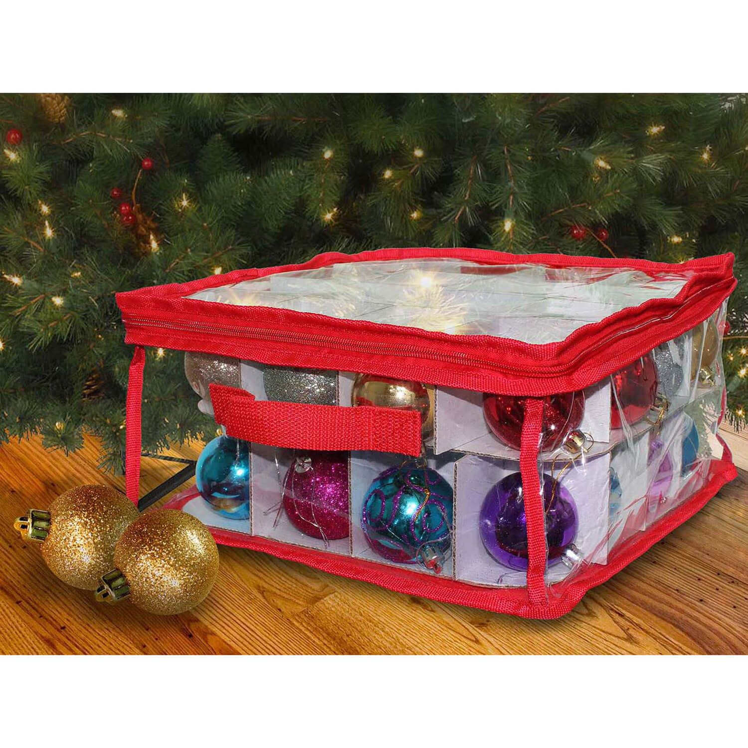 images christmas tree decorations storage box