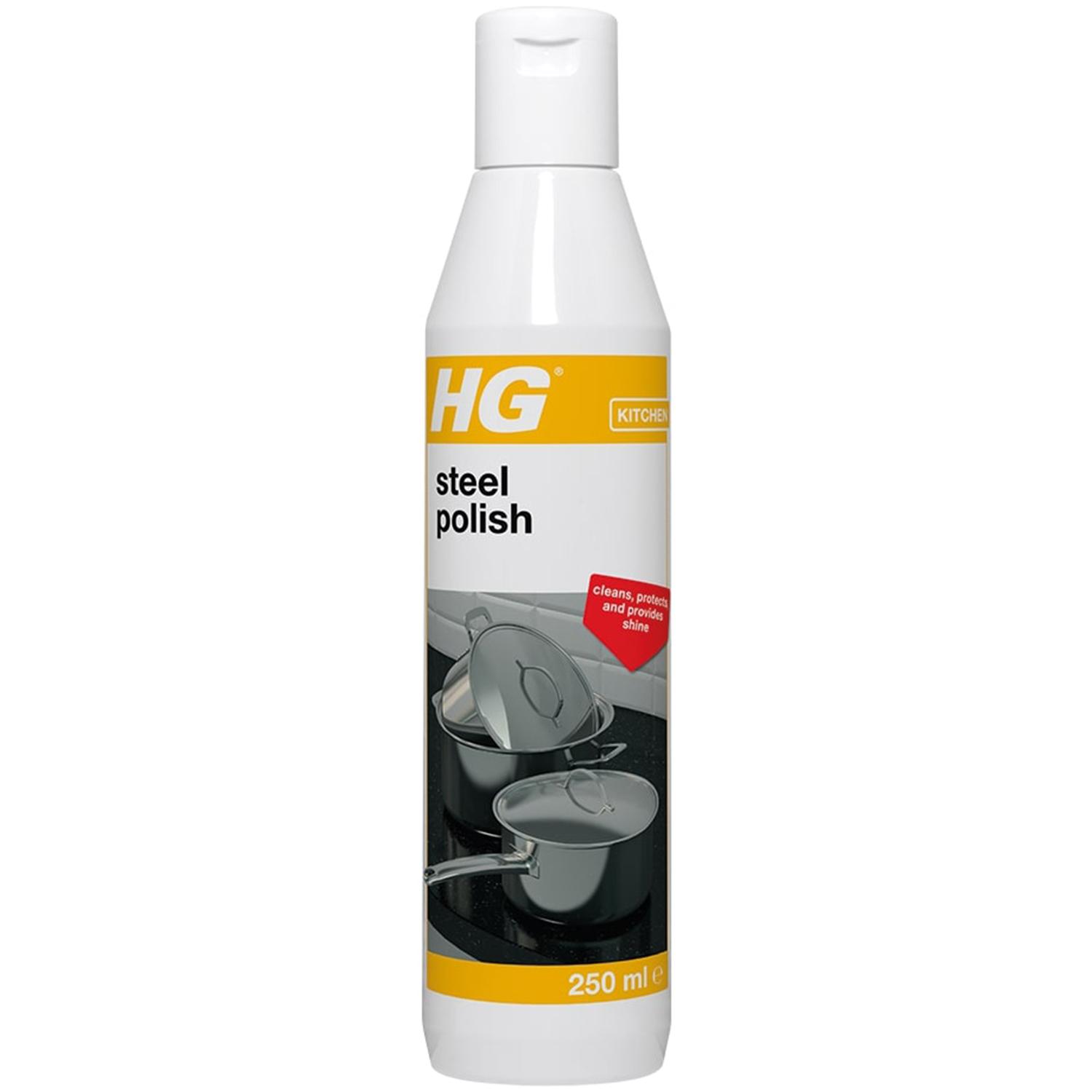 HG Steel Polish 250ml