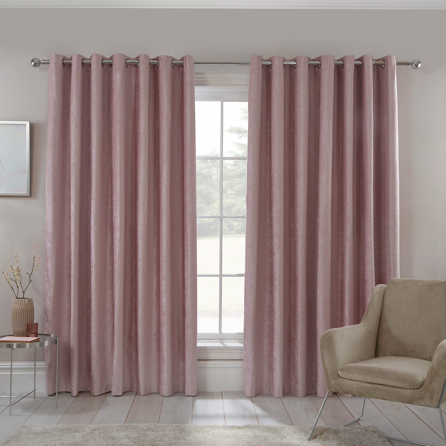 Blackout Thermal Textured Curtains Home Store More