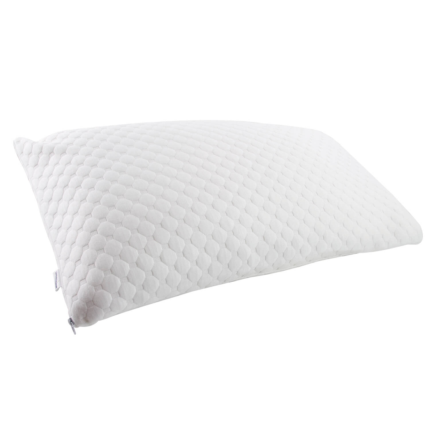 foam memory pillow bamboo comfortech medium derived cover