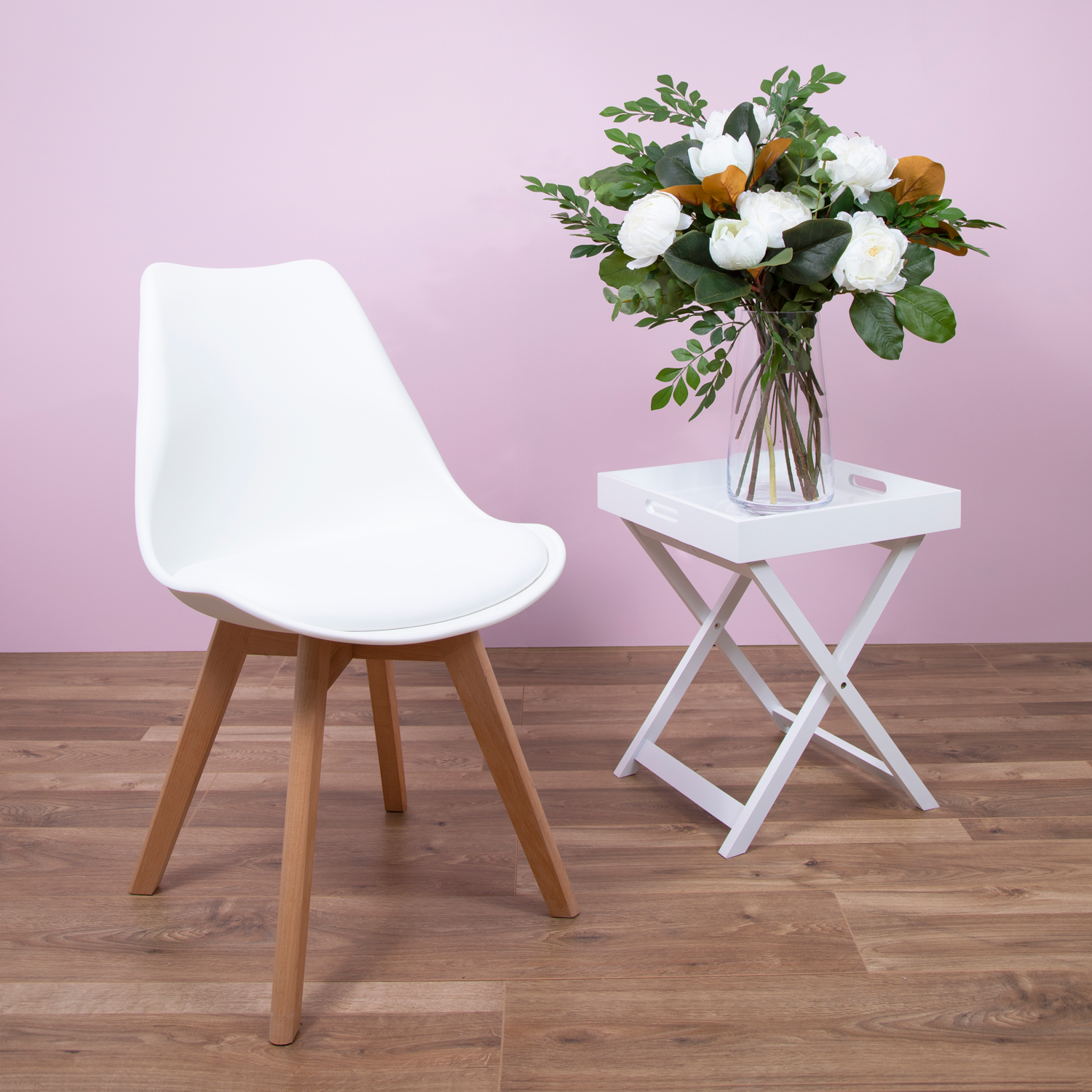 Aletta Dove Dining Chair