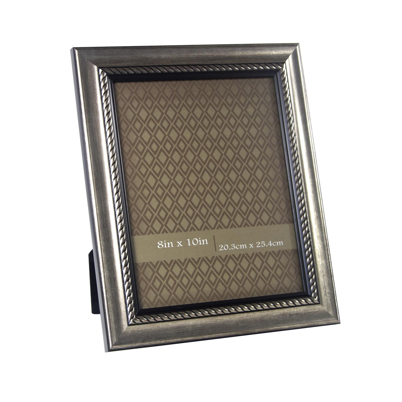 gold rope photo frame 8 x 10 home store more. Black Bedroom Furniture Sets. Home Design Ideas