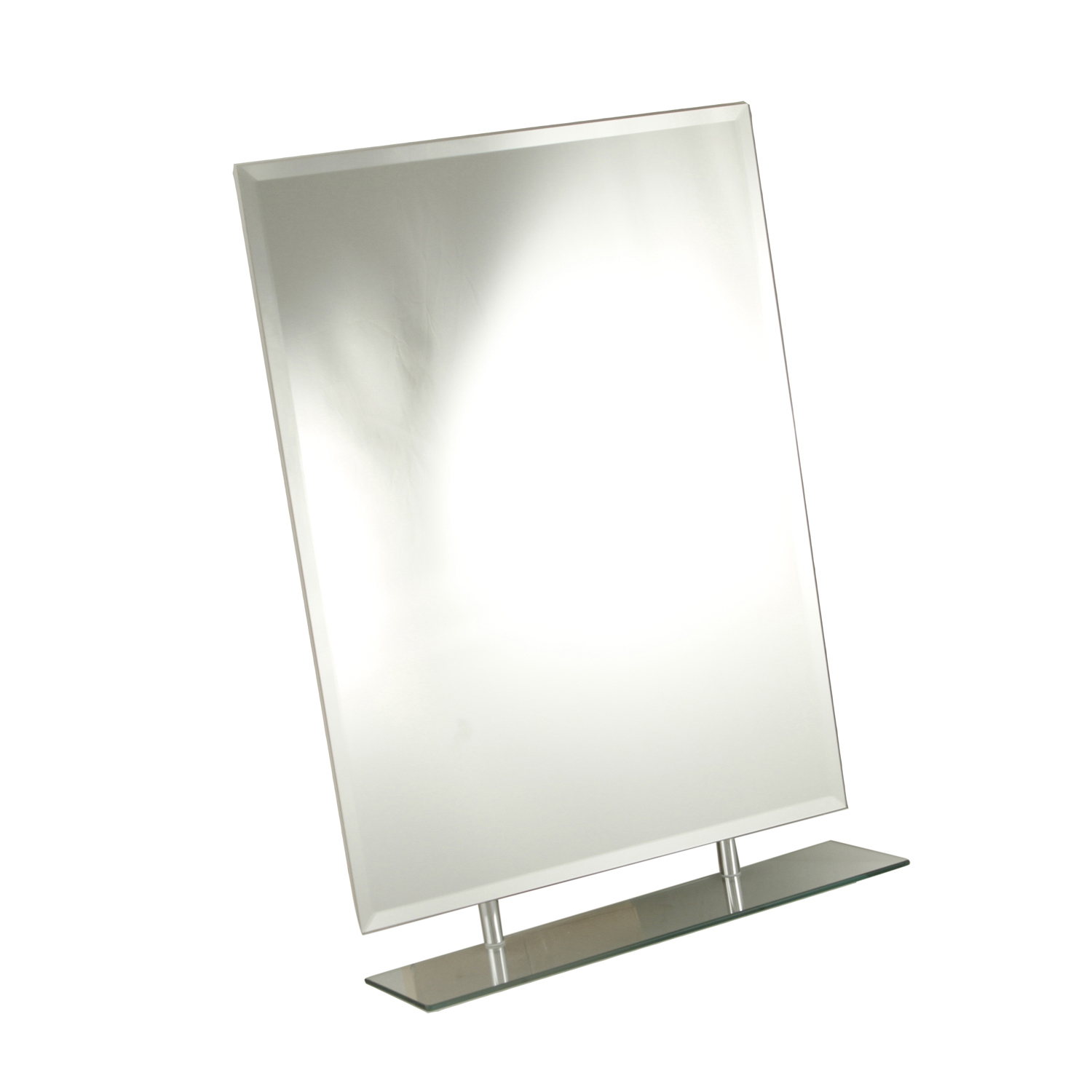 Tema Rect Bevelled 1 Shelf Mirror - Home Store + More