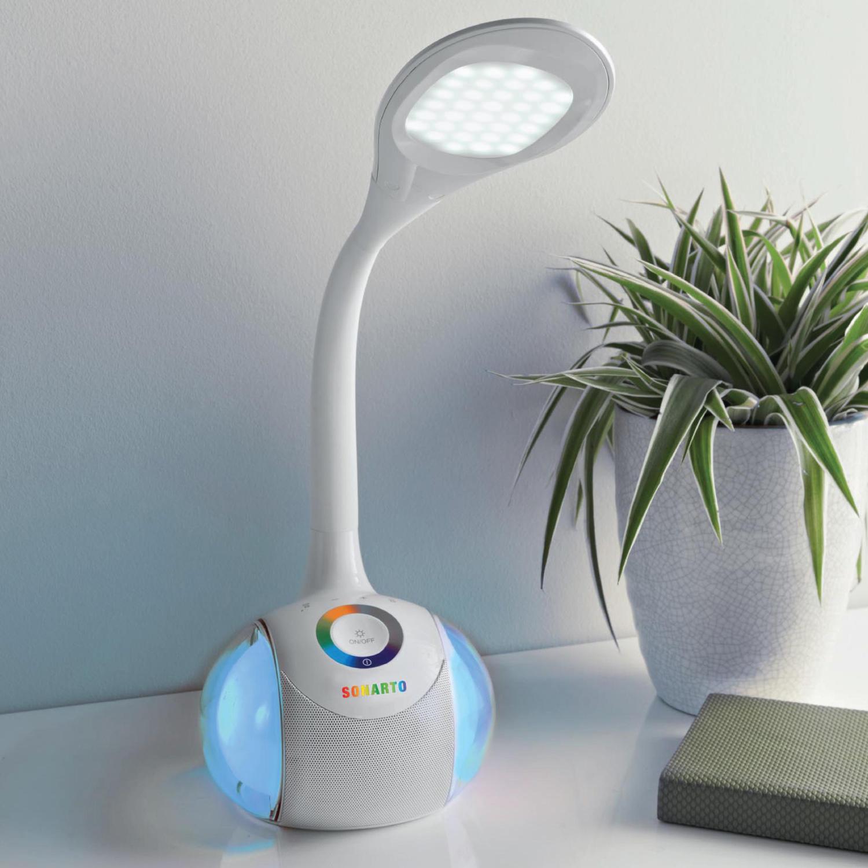 Images Sonarto Led Desk Lamp Bluetooth Speaker