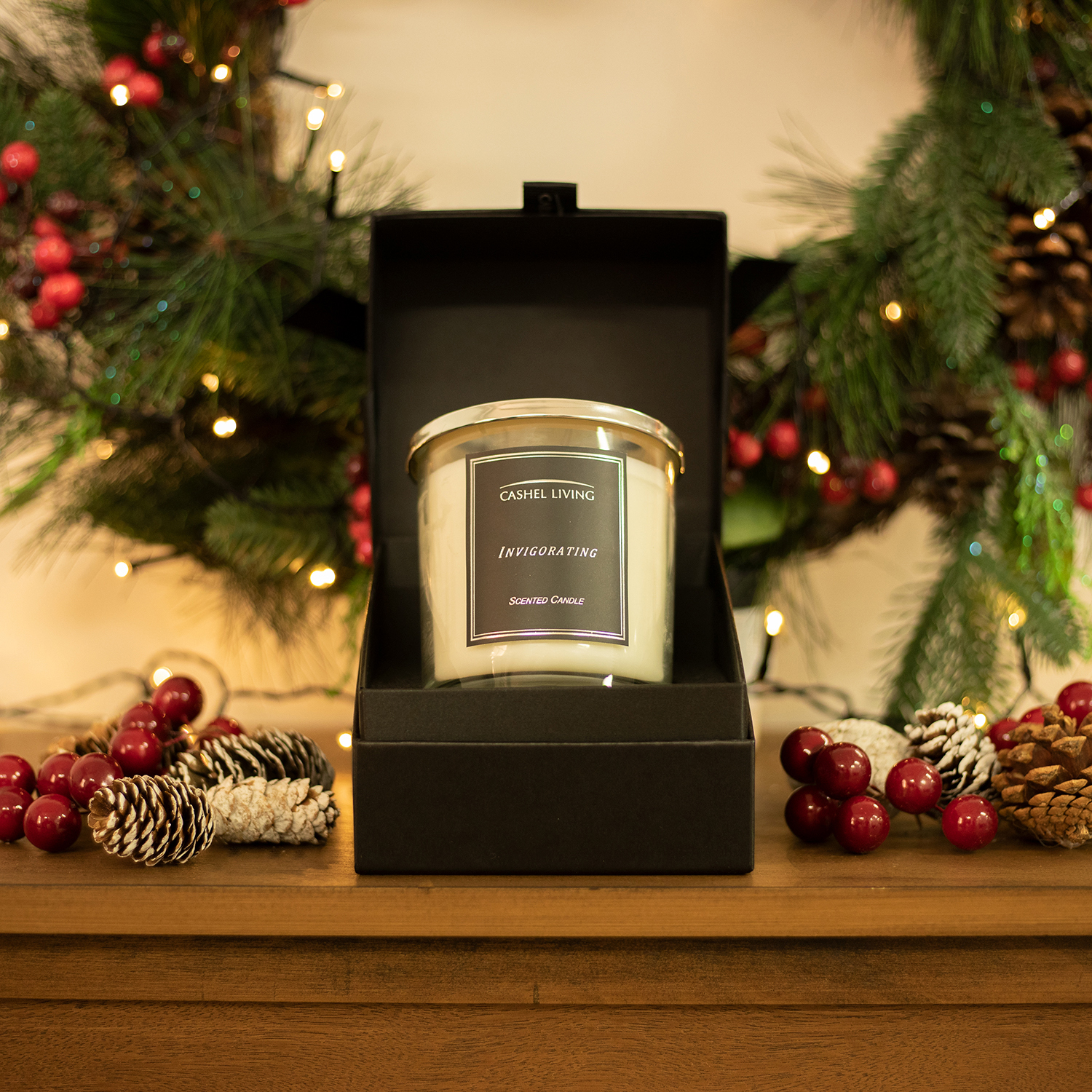Cashel Living Invigorating Scented Candle