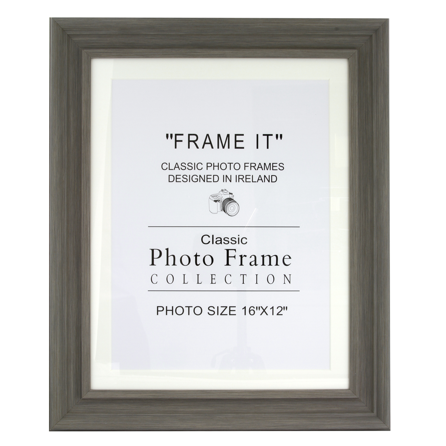 Slate Grey Photo Frame 12 X 16 Home Store More