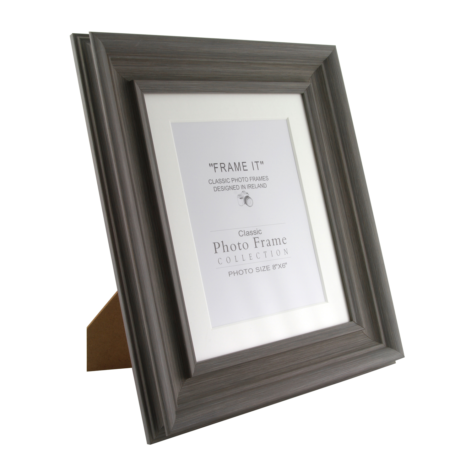 Slate Grey Photo Frame 6 X 8 Home Store More