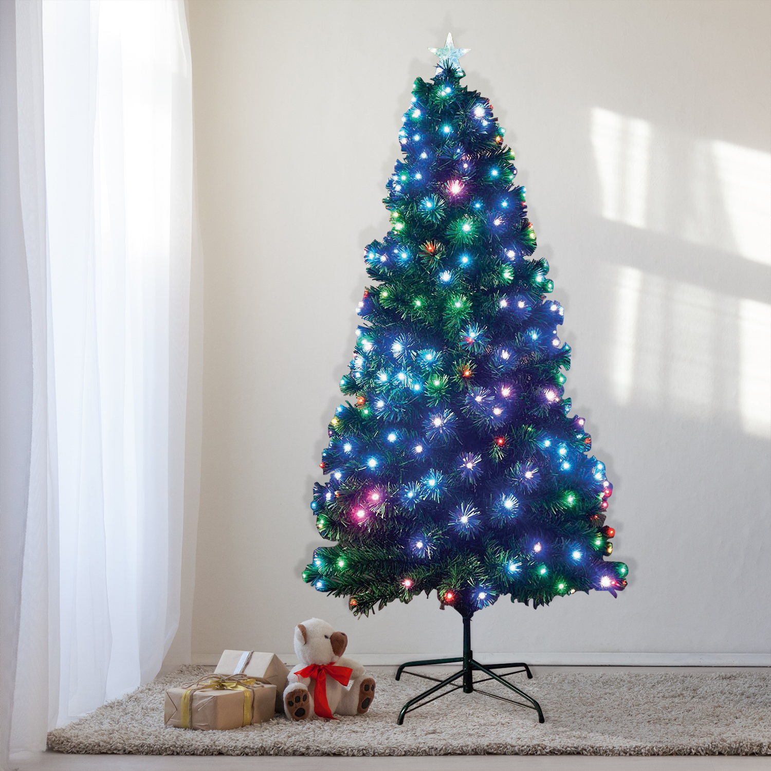 colour changing tree with 240 led lights tap to expand