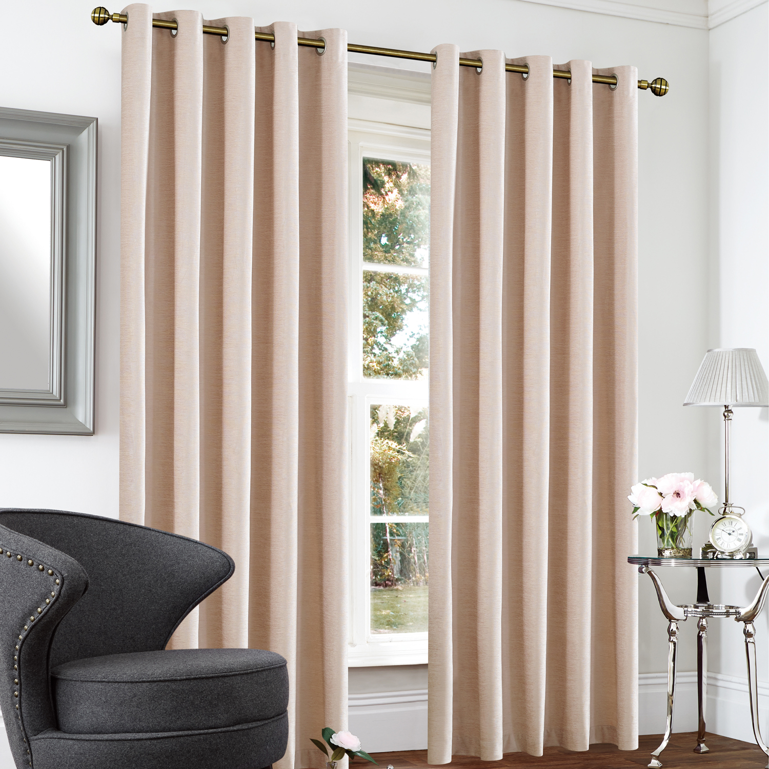 Household Stores: Blackout & Thermal Textured Curtains