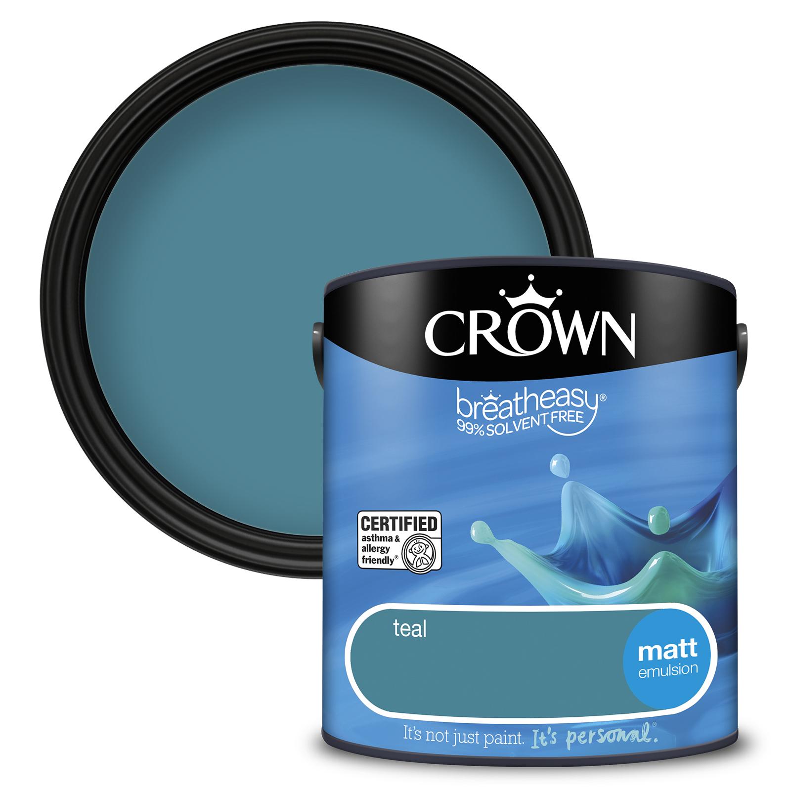 Crown Breatheasy Matt 2.5L - Teal