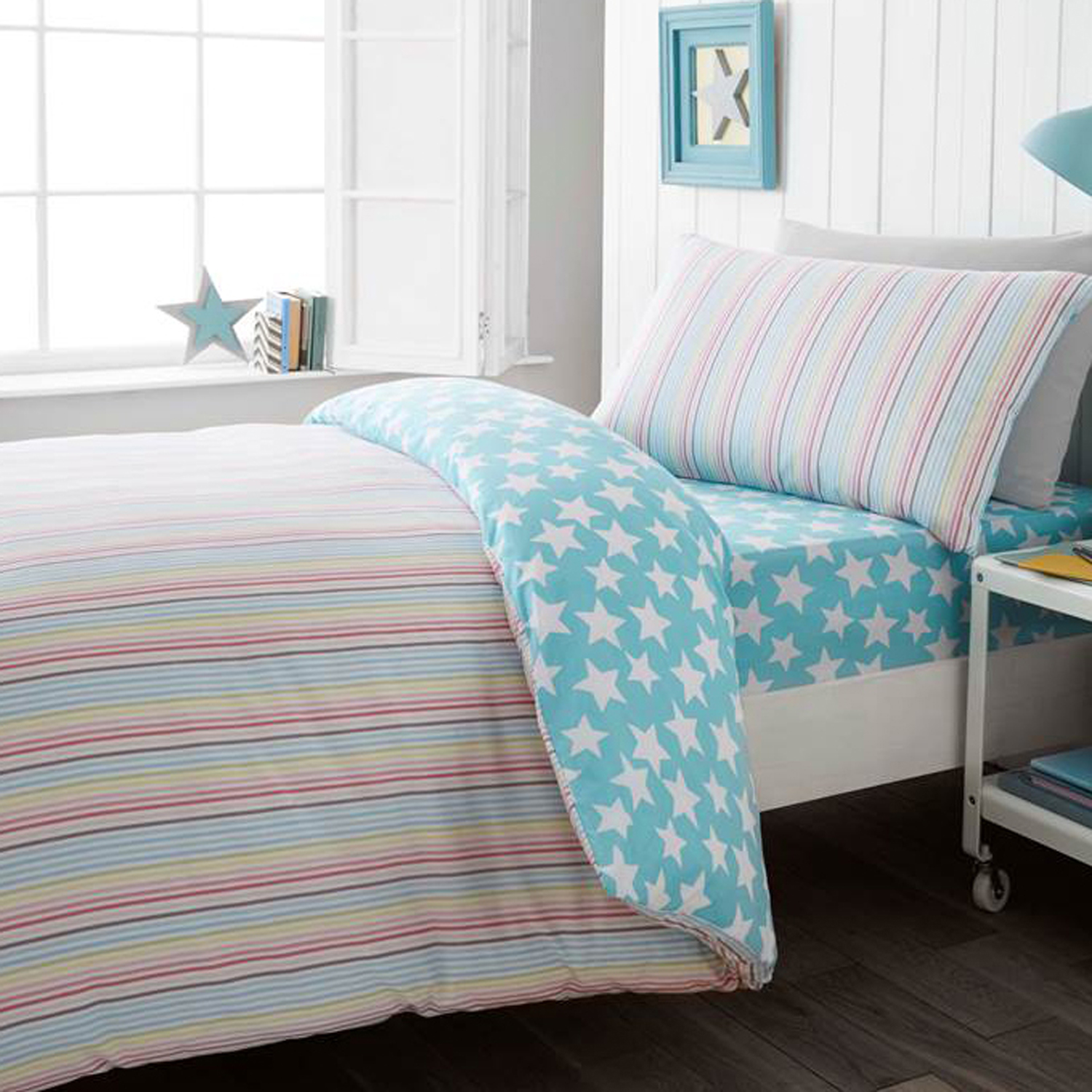 5d277f145dc5 Candy Stripe Duvet Cover - Home Store + More