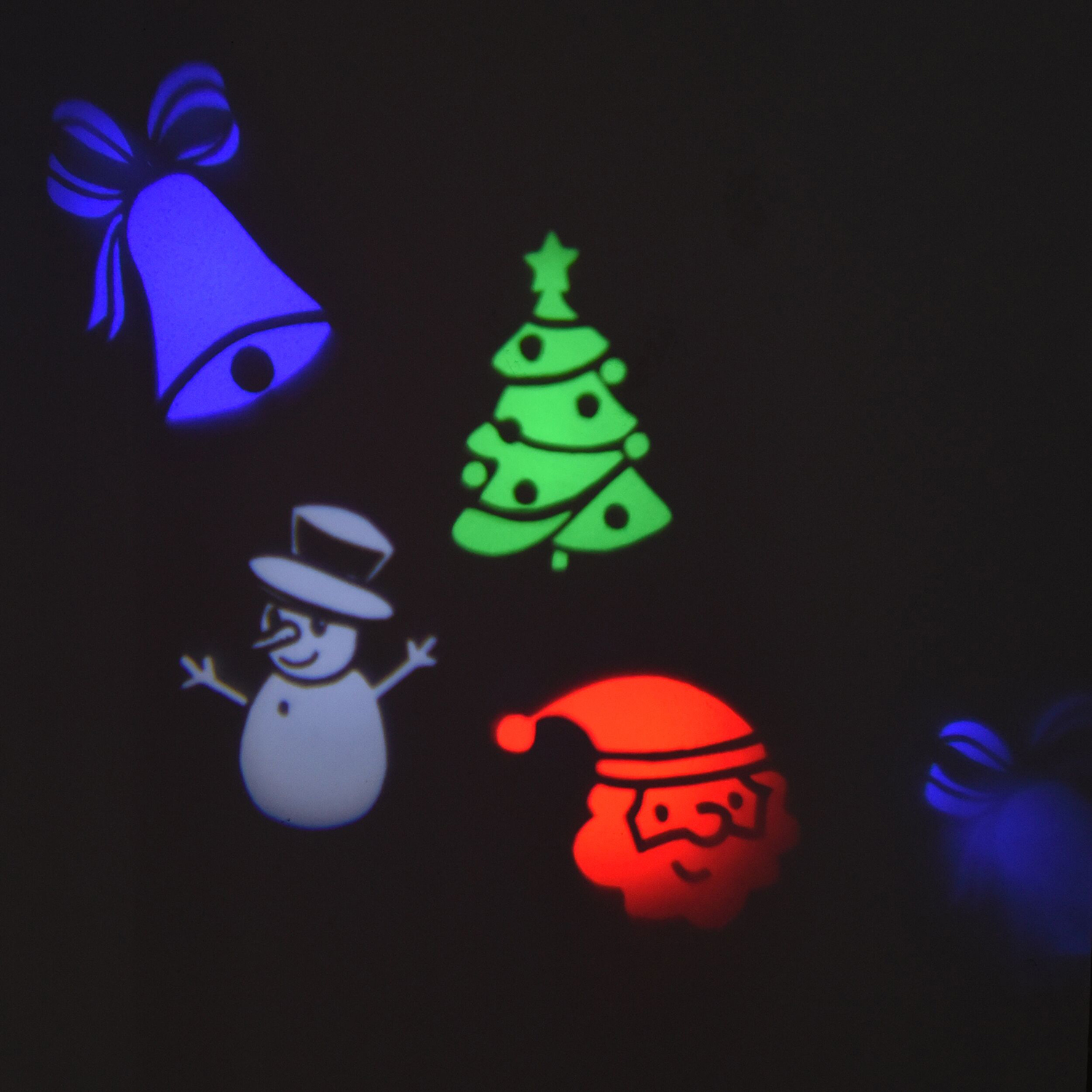 Outdoor Christmas Scene LED Projector