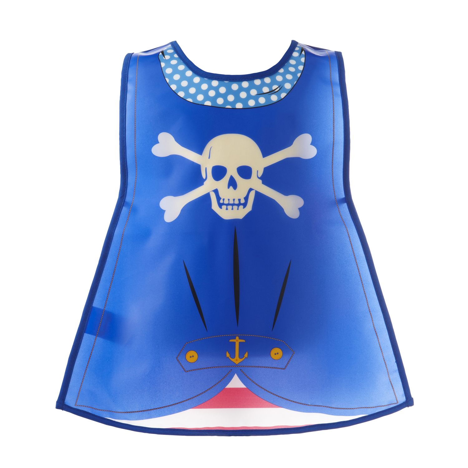 Pirate Blue Apron