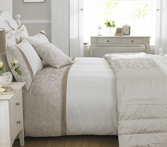Add A Touch Of Luxury To Your Bedroom With Our Quilted Rose Range
