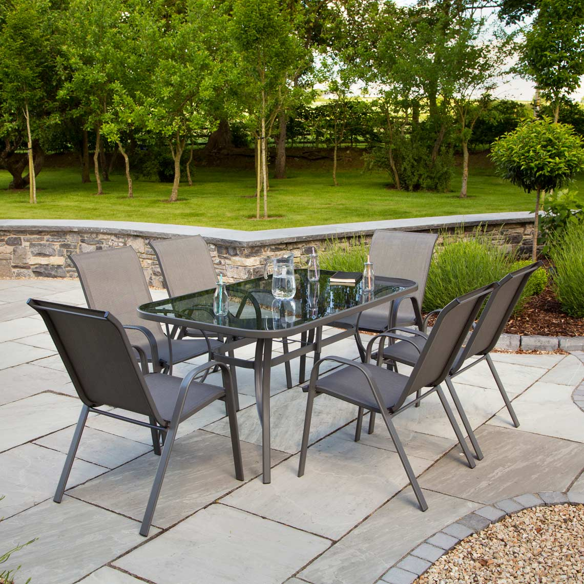 Cortina 7 Piece Garden Set